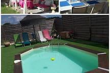 villa avec piscine 95 m2 près d Anduze