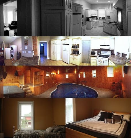 Great 2BD w private indoor pool/hot-tub - North Bay - Departamento