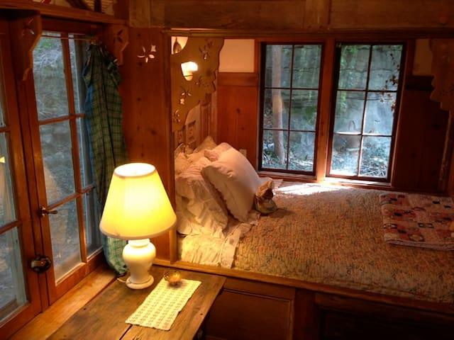 Deer Meadow Cabin In Eureka Springs - Eureka Springs - Ξυλόσπιτο