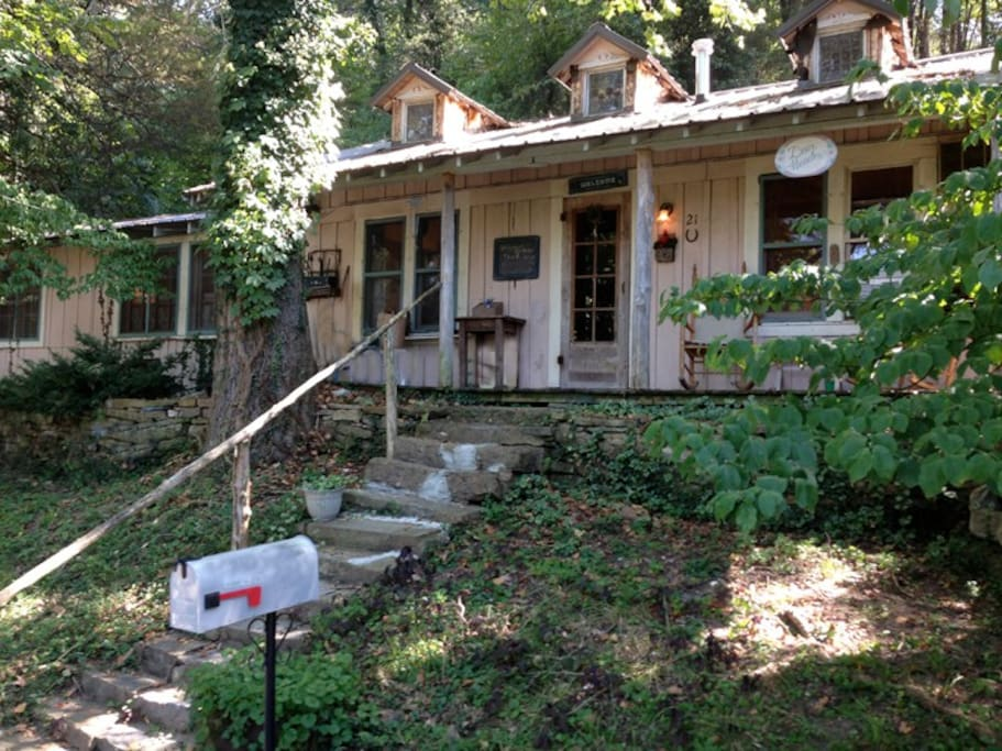 Deer meadow cabin in eureka springs cottages for rent in Cabins eureka ca