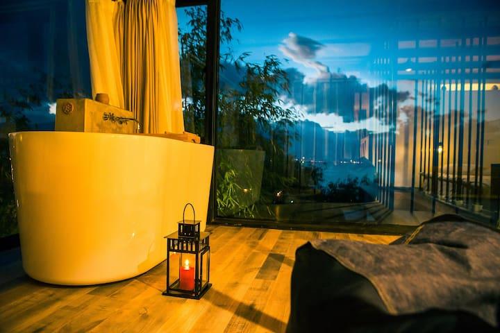 LOFT海景星空套房 可以看海的别墅