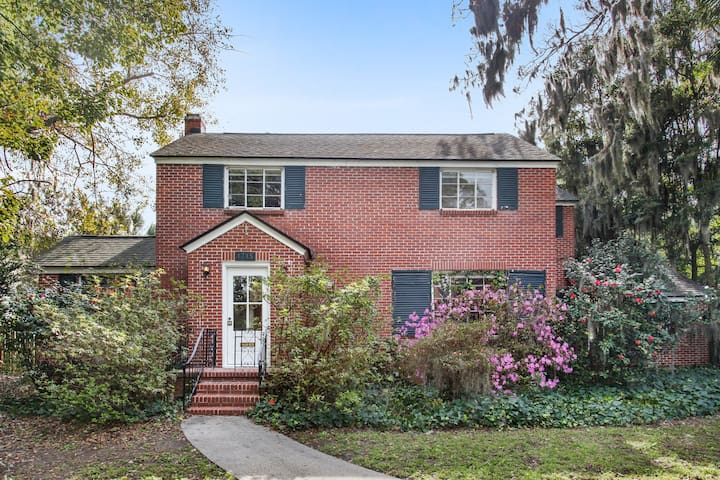 Historic Circa 1952 Brick home with a large pool.