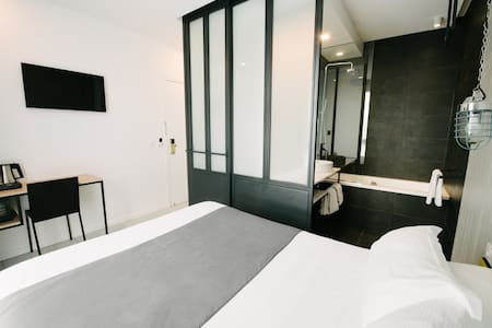 """Amsterdam"" design room free access to SPA&Garden - Clichy - Boutique-hôtel"