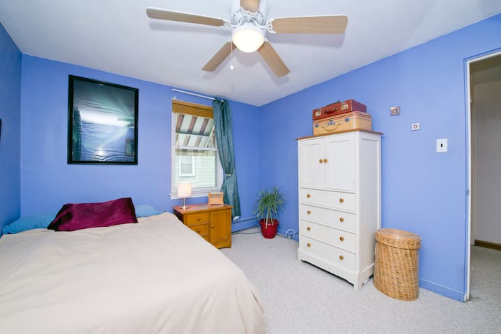 Full Bed Near Phila & RU for 1 OR 2 - Woodbury - Maison de ville