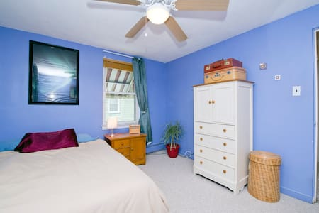 Full Bed Near Phila & RU for 1 OR 2 - 伍德伯里(Woodbury) - 连栋住宅