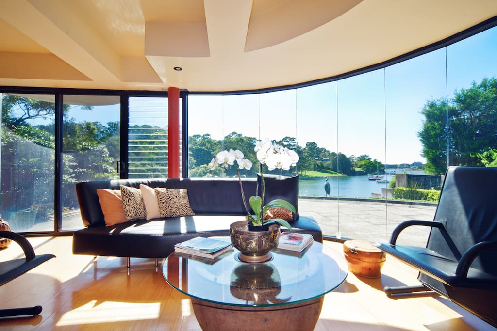 View from living area by day