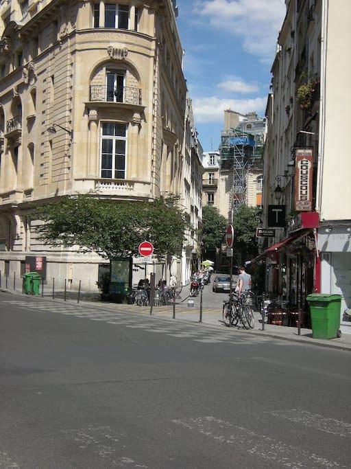 Montorgueil area