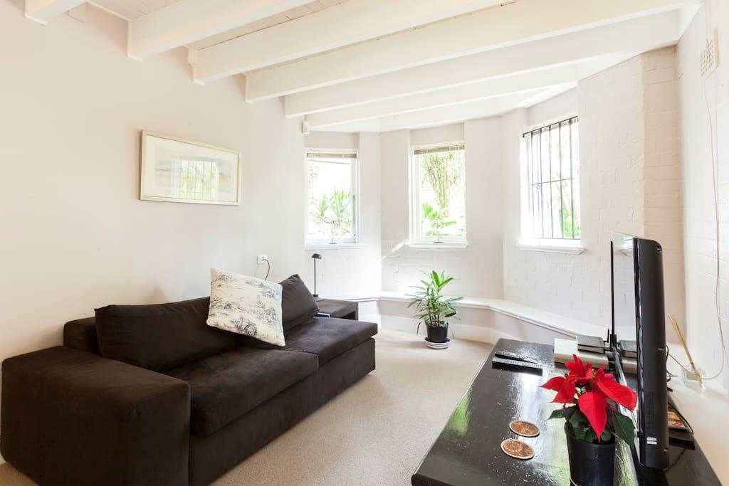 A spacious lounge