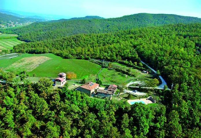 Cielo Apt@Il Cucciolo Holiday Farm - Città di Castello - Apartament