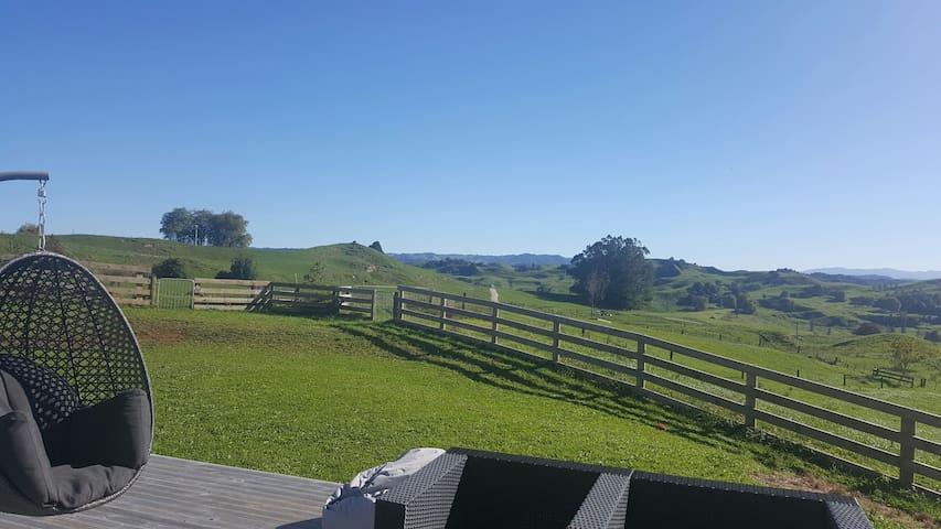 Peaceful home with amazing view - Te Kuiti - Casa