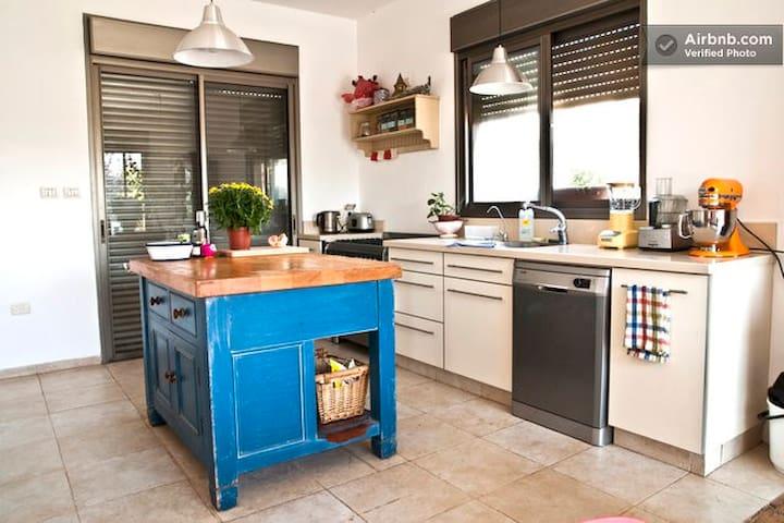 VILLA+GARDEN 10 min fromTel-Aviv - Neta'im - Casa