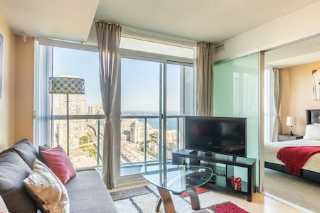 Incredible Lake Ontario and CN Tower View condo