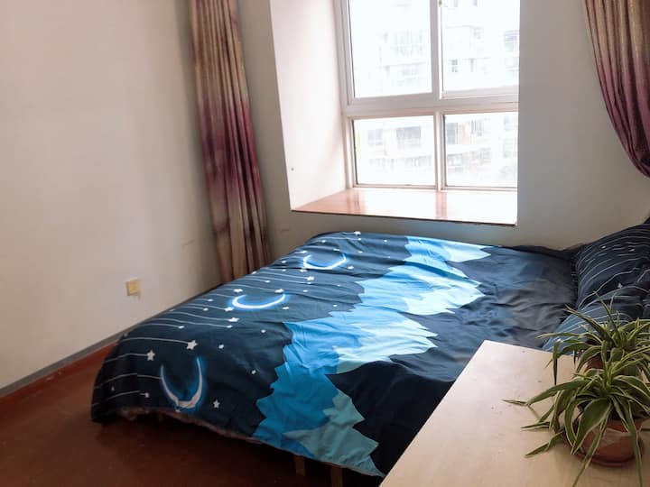 南广晓庄对面温馨大床房