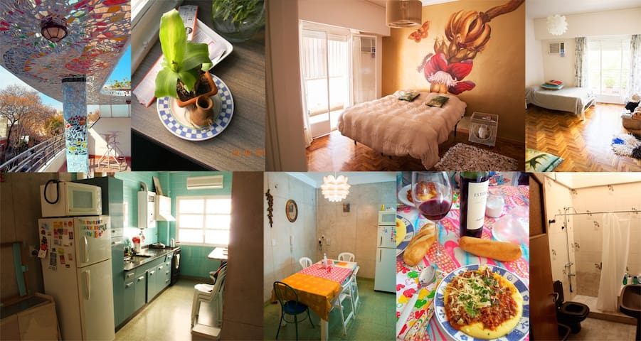 Beautiful Rooms in Colegiales !!