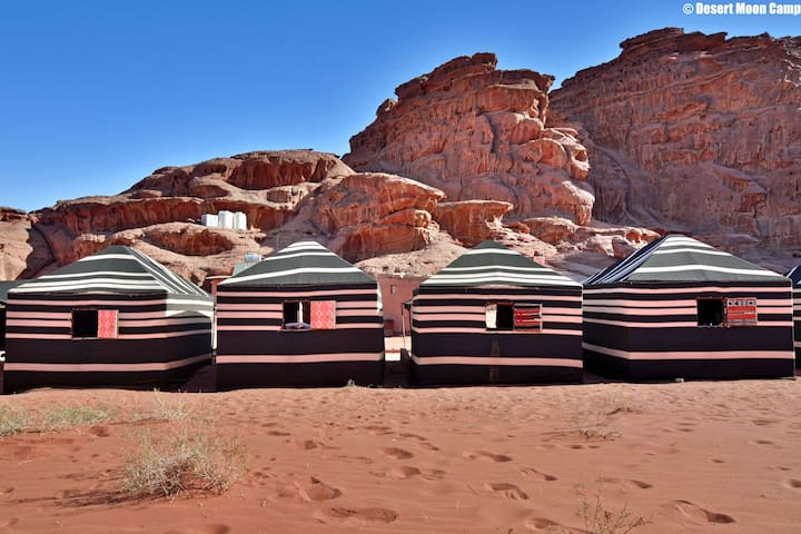 Private tent - DESERT MOON CAMP - Breakfast