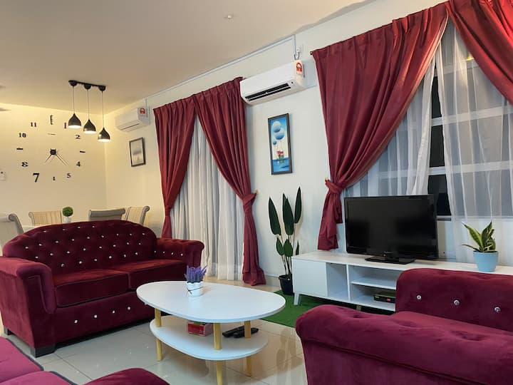 D'Residen (10+6)pax SWIMMING POOL, GYM, BBQ, WiFi