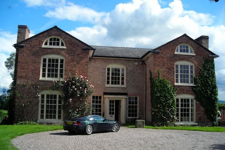 Beautiful British Country House - Llansantffraid