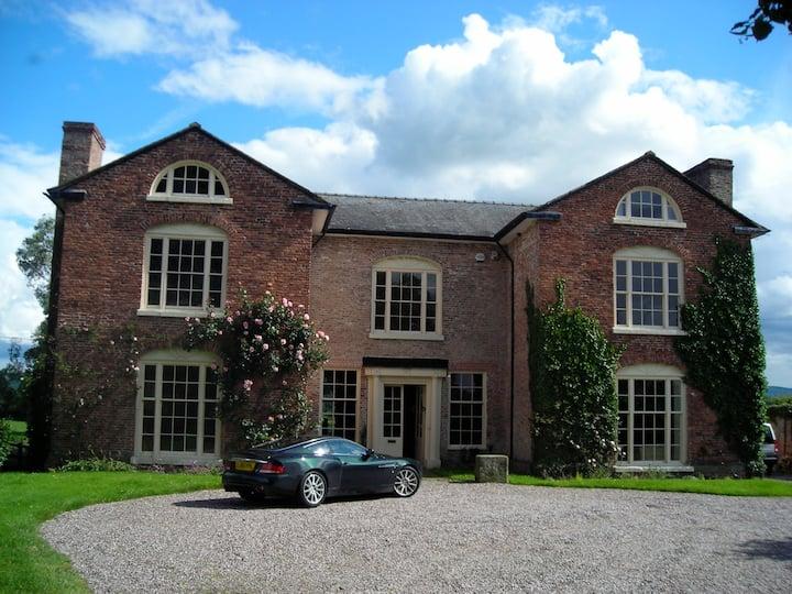 Beautiful British Country House