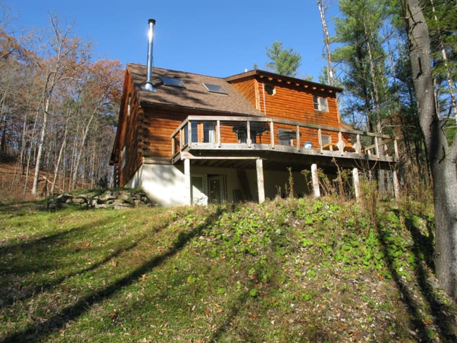 catskills luxury log cabin cabins for rent in catskill