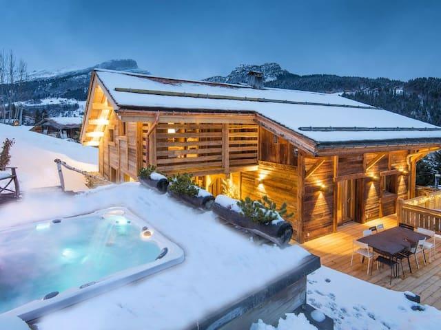 High Quality Chalet w Indoor Pool, Sauna & Jacuzzi - Ischgl - Almhütte