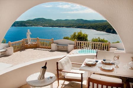 A dream Ibiza villa near the beach. - Casa de camp