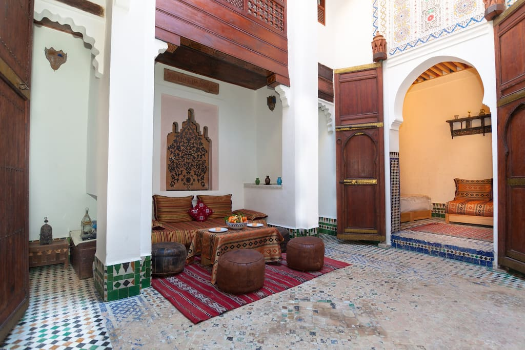 Riad dar jnane fes houses for rent in fes fes for Airbnb fez