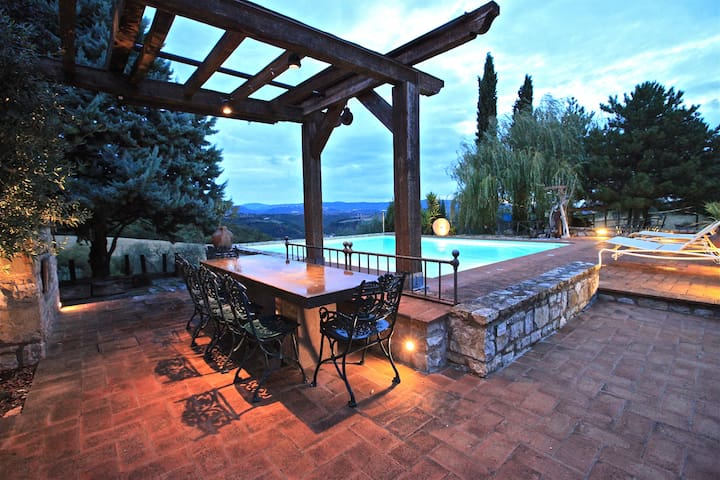Casa Boschetto, villa with private pool