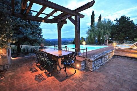 Casa Boschetto, villa with private pool