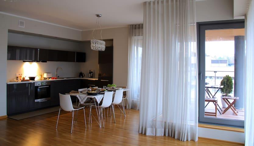 Семейные апартаменты у моря - Saulkrasti - Byt