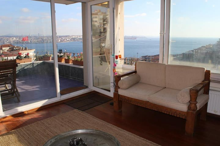 Exclusive Penthouse.TopView.Central - Istanbul - Huis