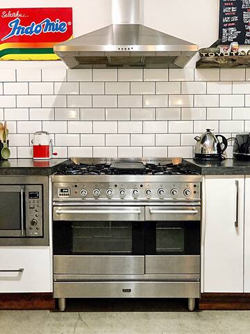 Kitchen with everything you need plus more