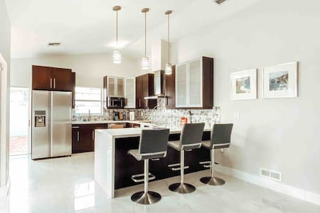 Modern Home away from home Miami   just remodeled