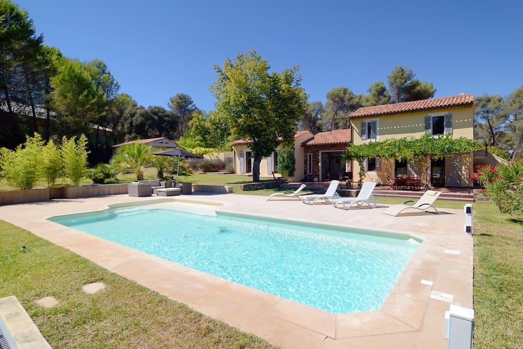 villa pour 6 avec piscine houses for rent in cabri s