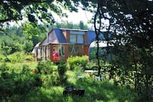 Welcome to Meadowsweet Forest Lodge  , a retreat in the peace of nature in Donegal's hills