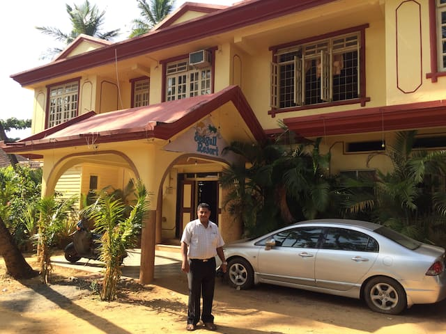 Seagull Resort Double room - South Goa