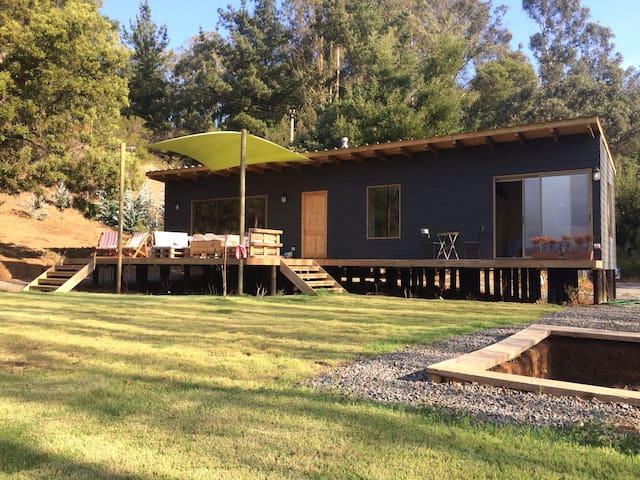 Linda casa Lago Vichuquén, Sector Punta del Litre - Vichuquén - House