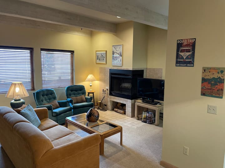 Year-round Outdoor Pool and Hot Tub and Bald Mt. Views  | 1 Bedroom, 1 Bathroom