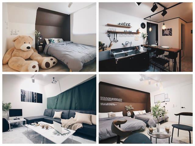 [2,3월 슈퍼 세일] O&B01 Architect's House 파티룸 / 홍대 3분거리