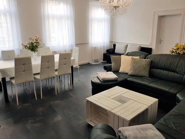 3-Zimmer-Wohnung Deluxe, bis max. 10 Personen