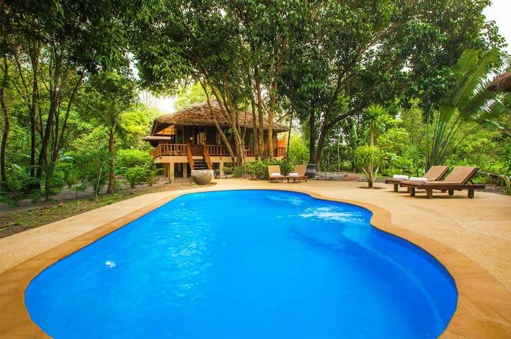 Luxury Four Bedroom Pool Villa Hideout