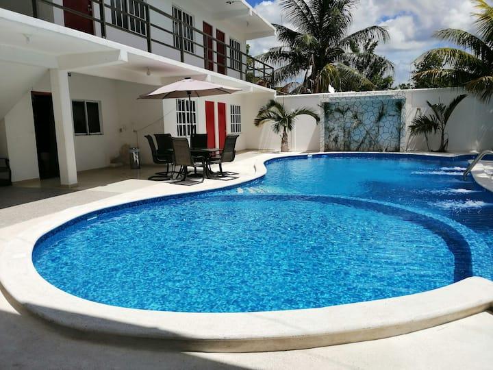 Hotel Real Ucum Alberca Con Chapoteadero!