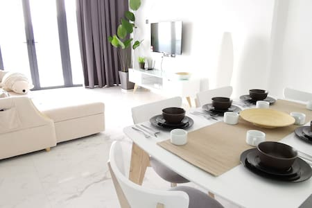 【Seaview】43 Family 3BR •walk to USM •Washer •8pax