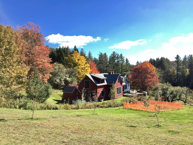 Vermont Hillside Farm - Northfield - Rumah