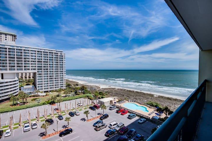 2BR-2BA South Hampton #506 Oceanview - Myrtle Beach - Condo