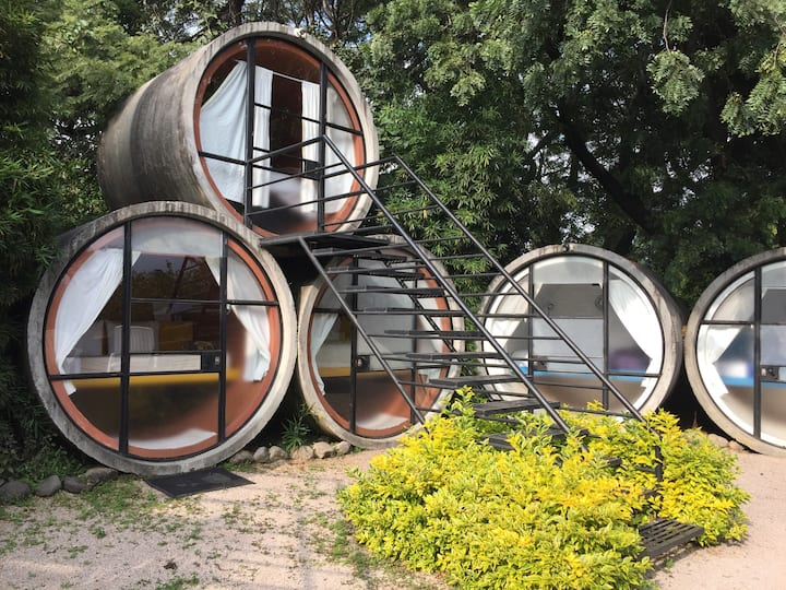 Tubohotel, una experiancia diferente Tubo 3