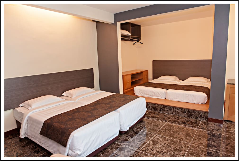 Family room - Up to 5 persons