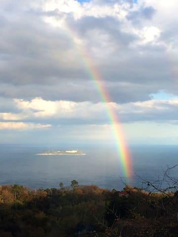 Views from Balmoral (Rainbow )