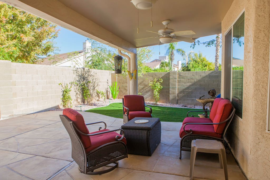 Relax On The Patio - Enjoy A Nice Cup Of Tea Or Coffee And Watch the Hummingbirds and Butterflies...