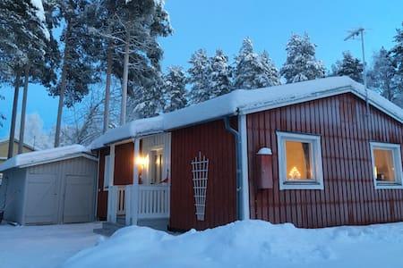 Solveig House in Vuollerim Lappland