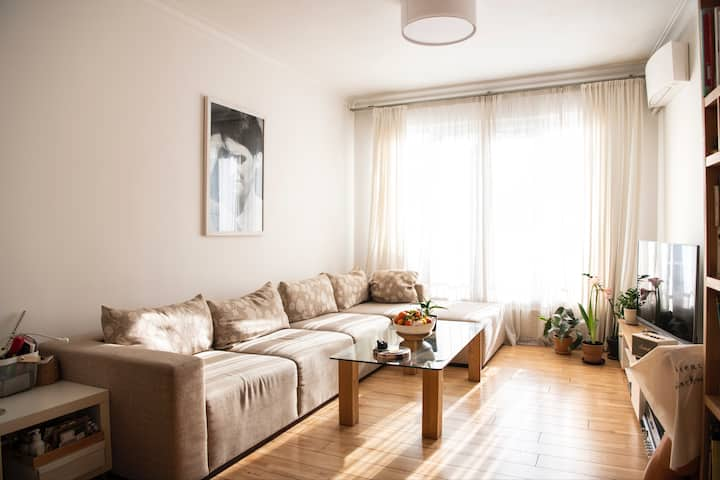 Central, calm apartment in the heart of Sofia